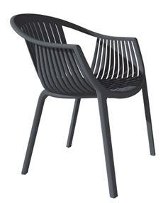 Tatami från Pedrali finns även utan armstöd. En karmstol som är tillverkad av polypropylen och kan väljas i flera olika färger. #stolar #restaurangstolar #cafestolar #pedrali #dialoginterior