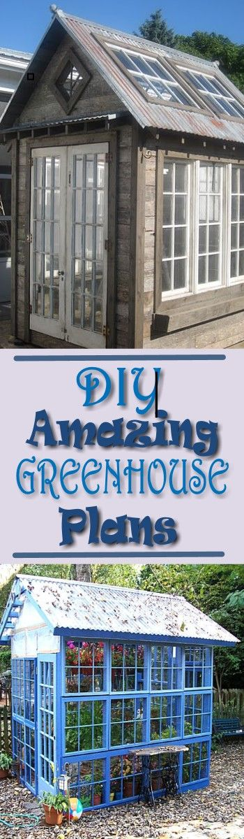 Do you want to build a greenhouse, but do not have enough room? Then you need to checkout Building A Greenhouse Plans