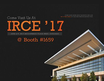 """Check out new work on my @Behance portfolio: """"IRCE 2017"""" http://be.net/gallery/52813229/IRCE-2017"""