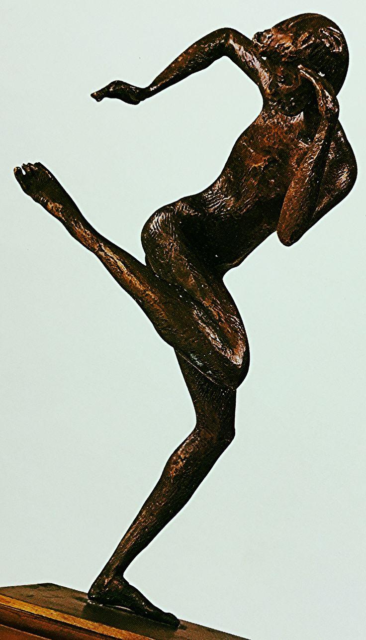 https://flic.kr/p/BK4WFZ | Luigi Speranza -- PERICLE FAZZINI -- Bronzo, altezza cm 28 -- ARTE ITALIANA.