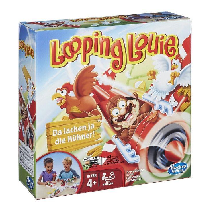 Looping Louie  Beschütze deine Hühner und wehre Louie mit der Wippe ab 2 bis 4 Spieler ab 4 Jahren