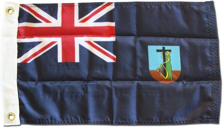 "Montserrat - 12""X18"" Nylon Flag: Flags were, historically, the sole method of communication for vessels at… #UKOnlineShopping #UKShopping"