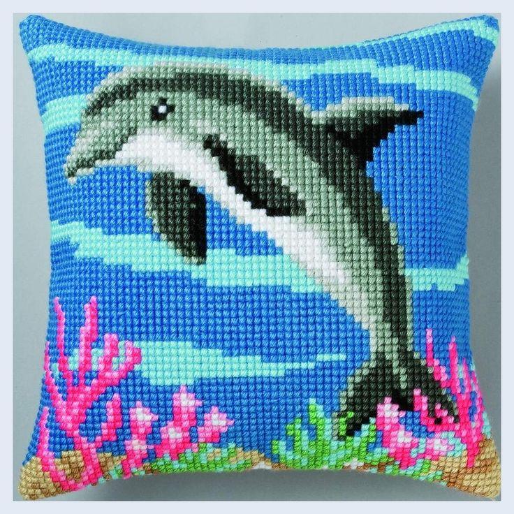 Nafra :: Kousen :: Handwerken :: Breigarens - Dolphin - cross ...