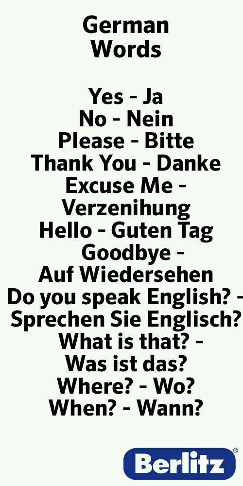 German words