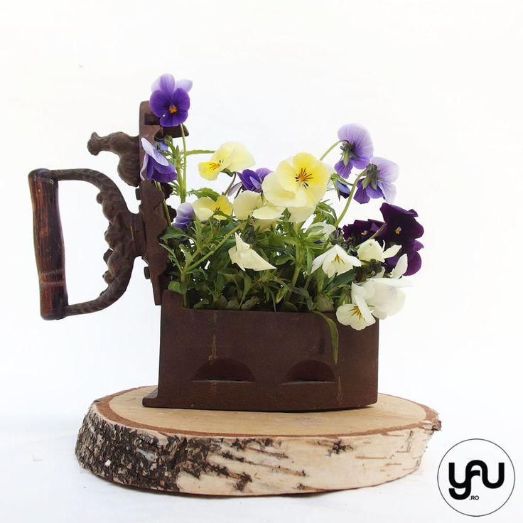 PANSELUTE, intr-un aranjament floral pentru PASTE   YaU Concept BLOG