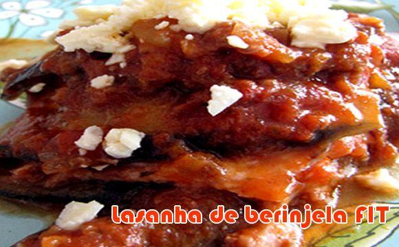 Aprenda como fazer uma deliciosa receita light de lasanha de berinjela, ótima para sua dieta de baixa calorias.