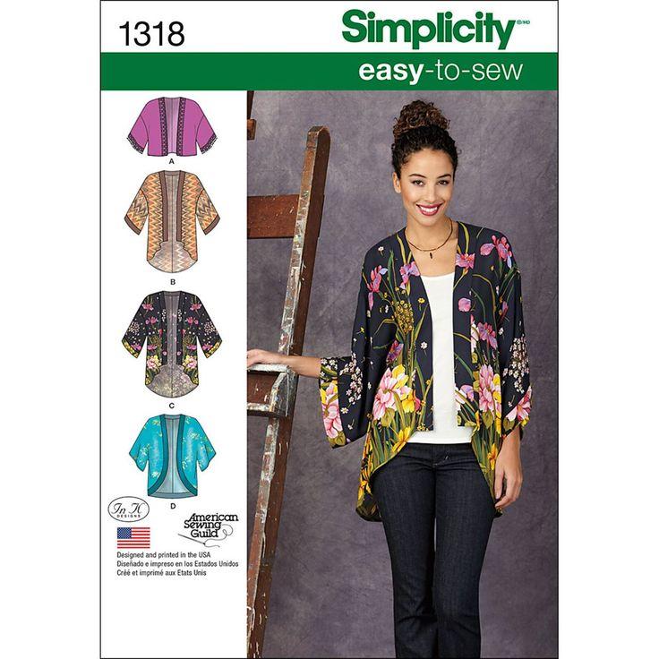 Simplicity Xxs-Xs-S-M-Misses Jackets CoatsSimplicity Xxs-Xs-S-M-Misses Jackets Coats,