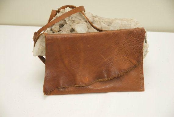 Crossover Purse  Handbag by HollyHawkDesigns on Etsy
