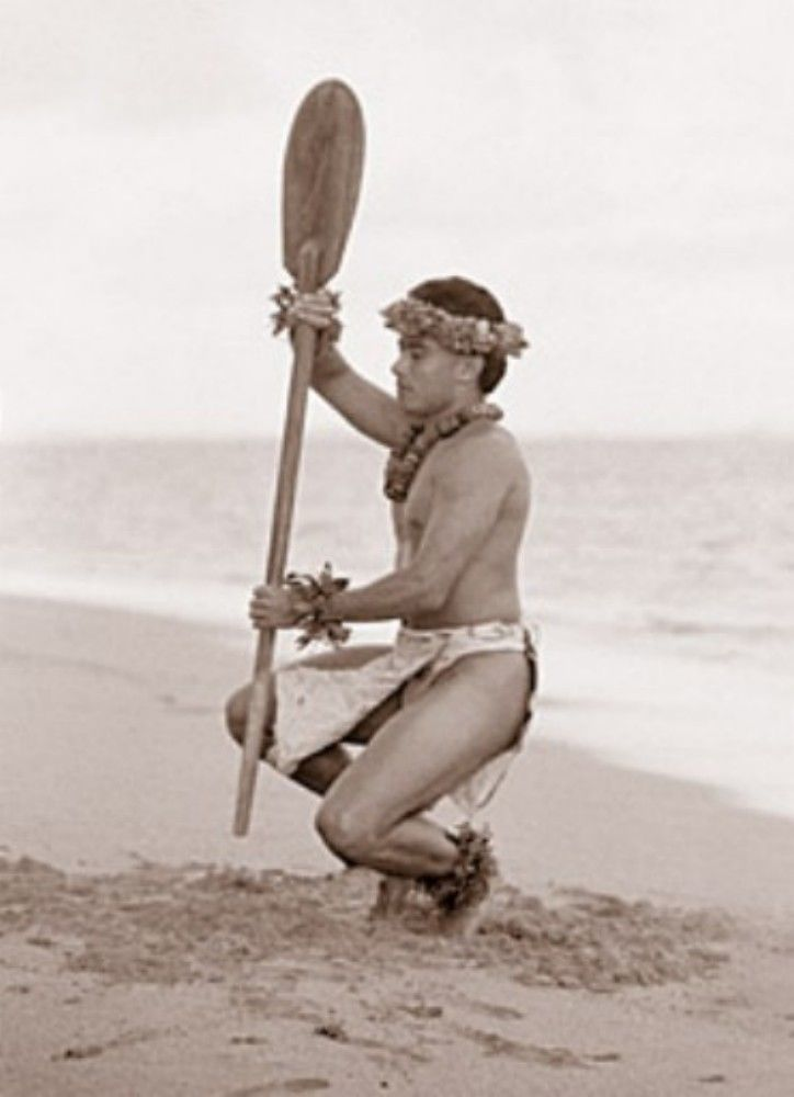 "Kim Taylor Reece ""Hoe Wa'a"" 11 X 14 Double Matted Hawaiian Hula Print - New in Art, Art from Dealers & Resellers, Prints | eBay"