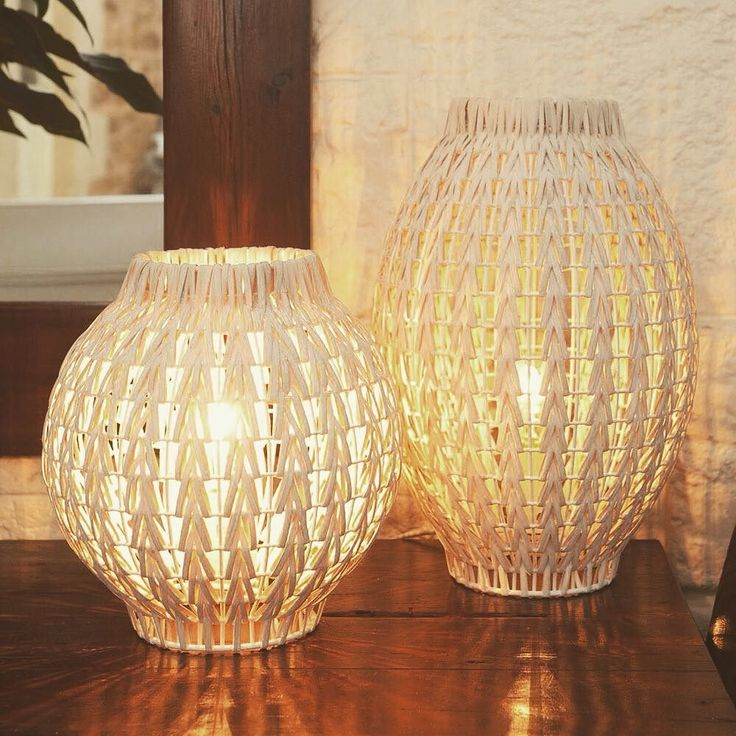 Beautiful table lamps look great in the bedroom or can be hung from the ceiling as a feature light. Sm $71.95 Lg $109.95 available at Sydney Gift Fair Showgrounds Dk3 and in fab stores around Australia. @agha_social #light #lamp #wholesale #wicker #familyowned #larder #southaustralia #ichoosesa #penola #coonawarra #wicker