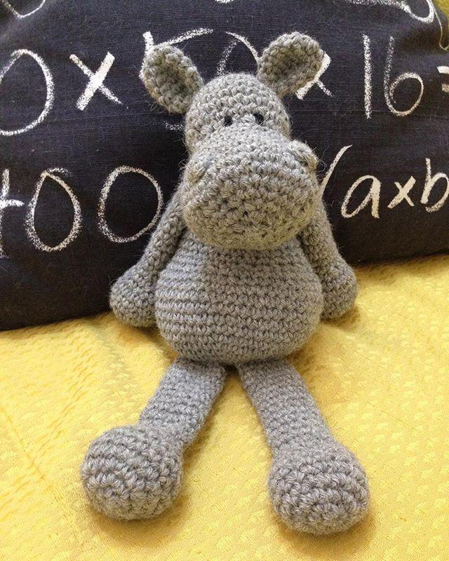 WEBSTA @ silana_sarafilo - Sexy Georgina Hippo is ready! Have a great afternoon!!!#hippo #crochet #uncinetto #ippopotamo #edsanimals #edwardsmenagerie #handmade #fattoamano #kids #toys #bimbi #mamme #instamamme #anearlystitchadaykeepsthedoctoraway #amigurumi