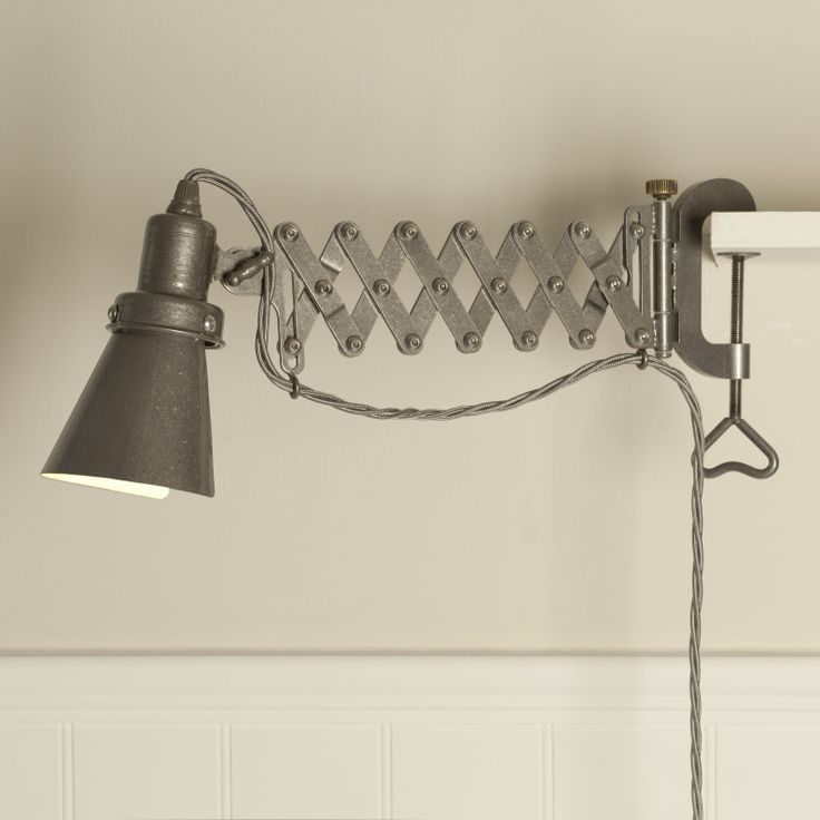 Our cutting edge new Albion Scissor wall light