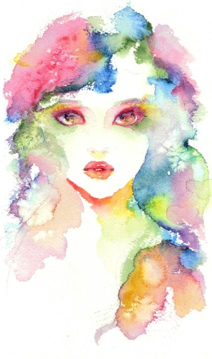 Pretty watercolors