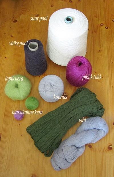 haapsalu shawl yarns