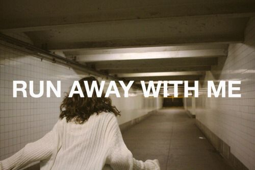 Carly Rae Jepsen run away with me
