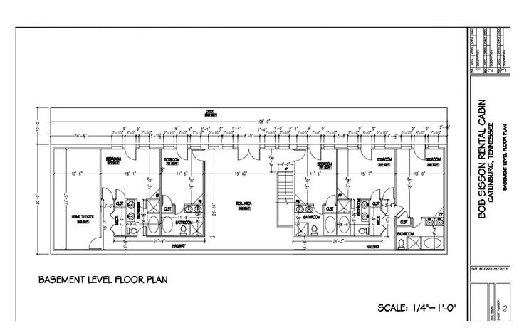 Floor Plan For Our New 14 Bedroom Gatlinburg Mansion