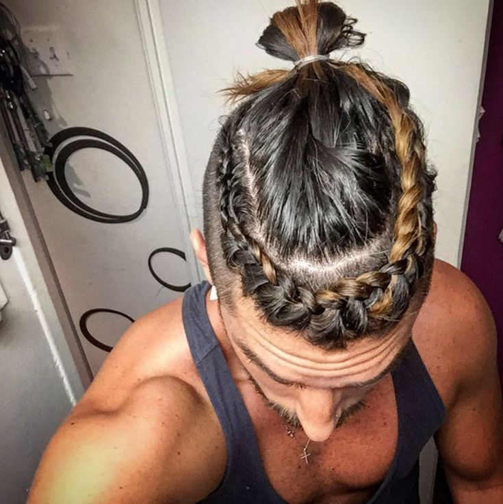 25 Best Manbraid Trenzas Para Hombres Images On