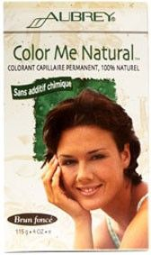 Aubrey Organics Colour Me Natural Hair Dye Dark Brown