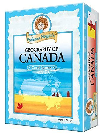 Outset Media Educational Trivia Card Game, Professor Noggin's Geography of Canada