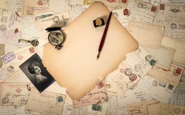 Старые письма и открытки