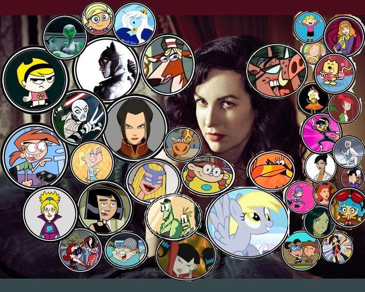Grey Delisle character list
