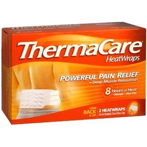THERMACARE BACK & HIP 8HR L/XL 2EA PFIZER CONS HEALTHCARE NO POST by Choice One. $8.99