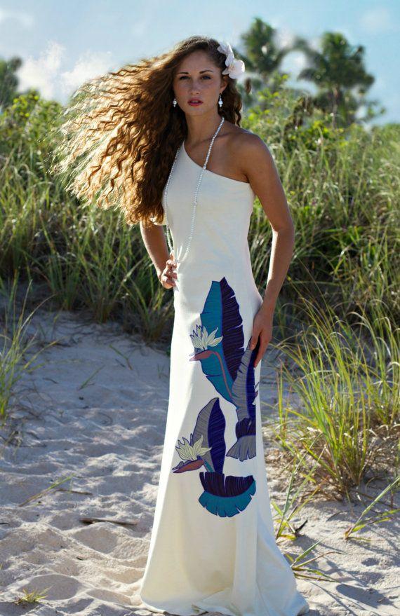 The Most Beautiful Hawaiian Wedding Dress Design M U Pinterest Dresses And