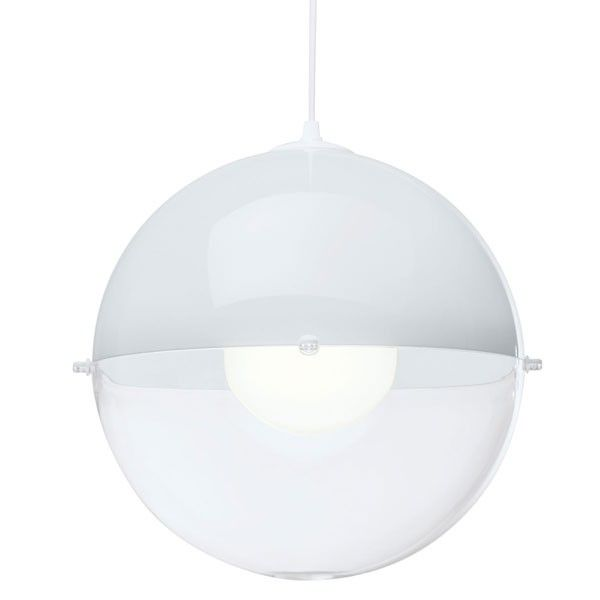 20 best kitchen lampshades images on pinterest lamp shades koziol orion hanging lamp white mozeypictures Choice Image