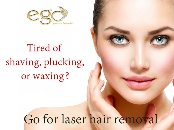 Tired of shaving, plucking, or waxing? Go for #laserhairremoval