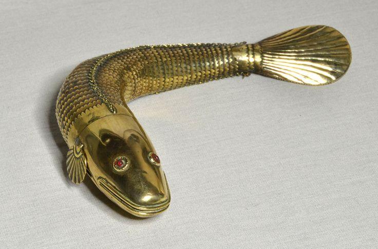 Rare Antique 19th Century Large Articulated Brass Medina
