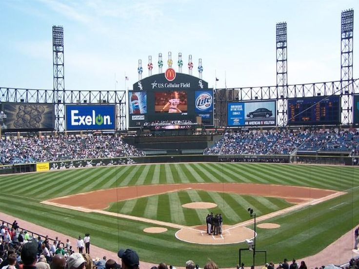 US Cellular Field, Chicago White Sox. Nice family friendly park - will make it back with my wife someday soon.