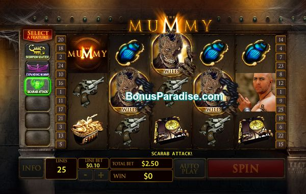 The Mummy - What a fantastic Slot from Playtech