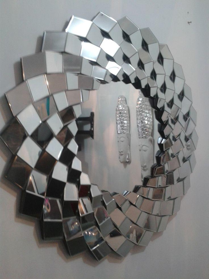 Mejores 117 im genes de decorative modern mirrors en for Ver espejos decorativos