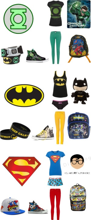 """super hero outfits"" by sksarakelly on Polyvore"