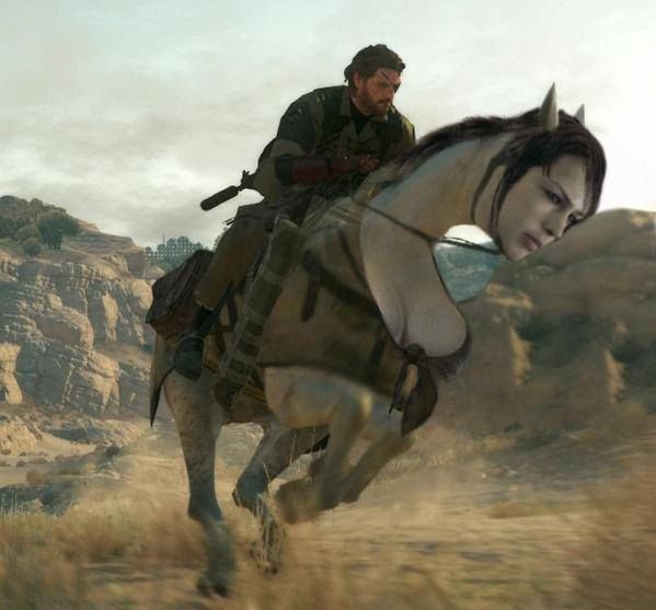 That's Quiet a horse you got there Snake http://ift.tt/2fYJzA0
