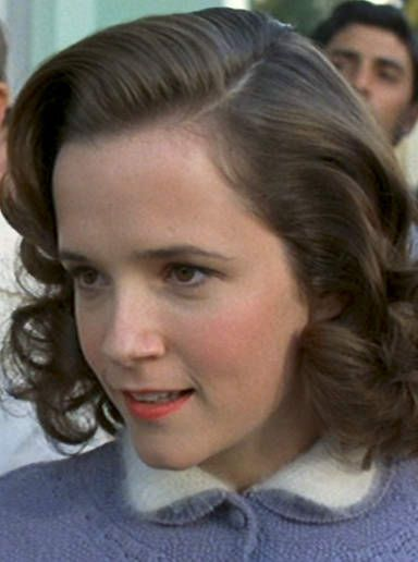 Lea Thompson as young Lorraine Baines (Back to the Future)