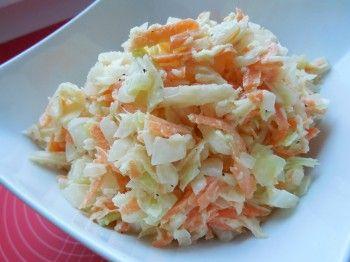Vyzkoušejte recept na oblíbený salát z bílého zelí, mrkve, celeru a majonézové zálivky. Coleslaw v domácí verzi podle našeho fotoreceptu zvládne úplně každý.