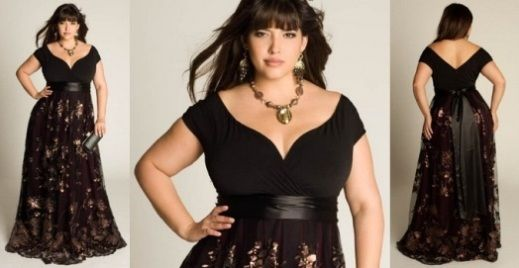 plus size nightgowns for women | Black Dresses for Women Plus Size, Transform Your Style | Sera-Fox.com