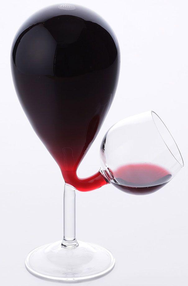 Картинка с бокалом вина прикольная, настроение