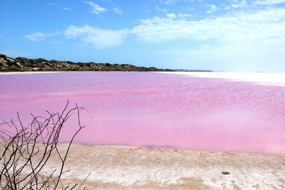 Pink Lake, Austrália