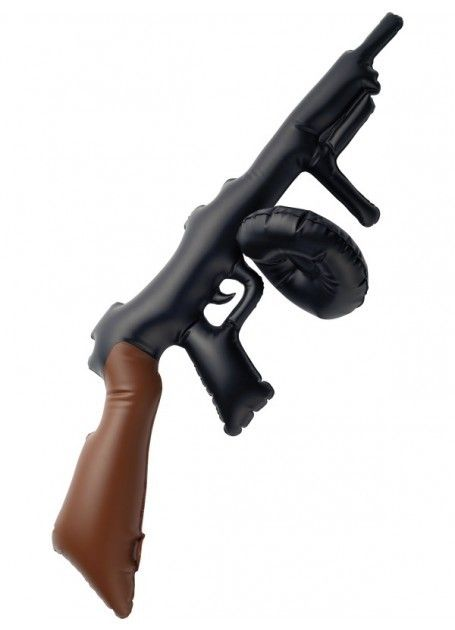 Let's Party With Balloons - Inflatable Tommy Gun, $12.00 (http://www.letspartywithballoons.com.au/inflatable-tommy-gun/)