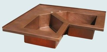 Copper Corner Sink : copper corner sink