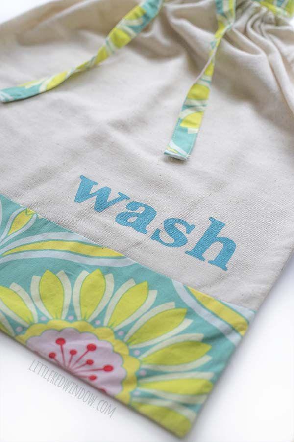 Diy Drawstring Travel Laundry Bag Travel Laundry Bag Travel