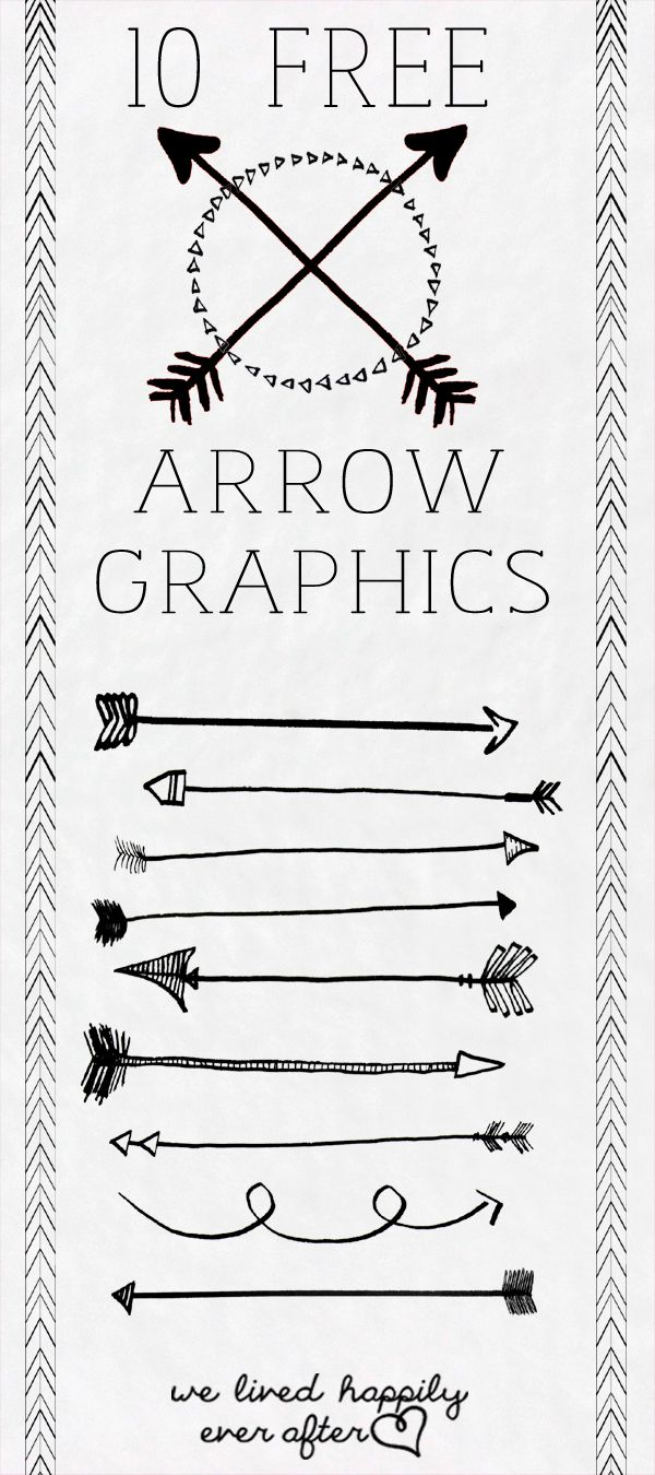10 Free Arrow PNG Graphics