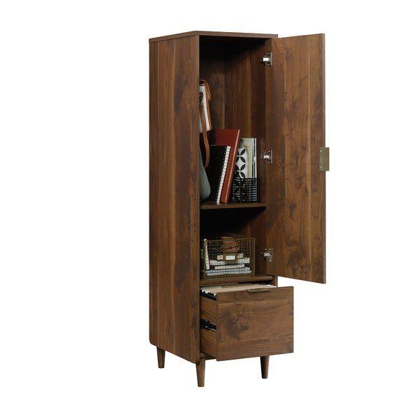 Cutrer 1 Drawer Vertical Filing Cabinet Allmodern Filing Cabinet Tall Cabinet Storage Contemporary Filing Cabinets