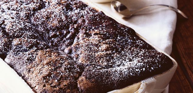 Chase away those winter blues with this scrumptious chocolate pudding.