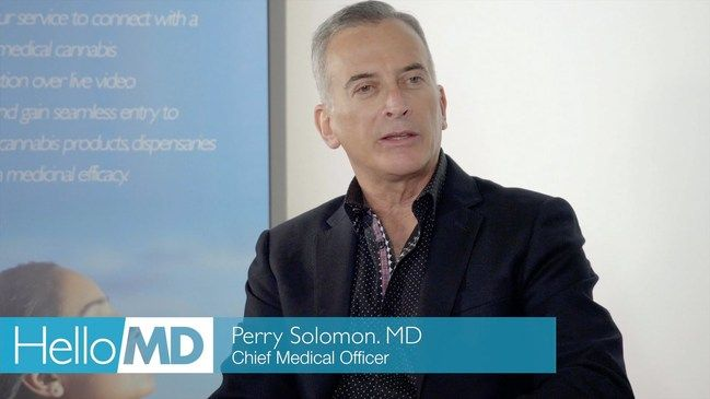 Dr Perry Solomon Chief Medical Officer Hellomd  Allopathic