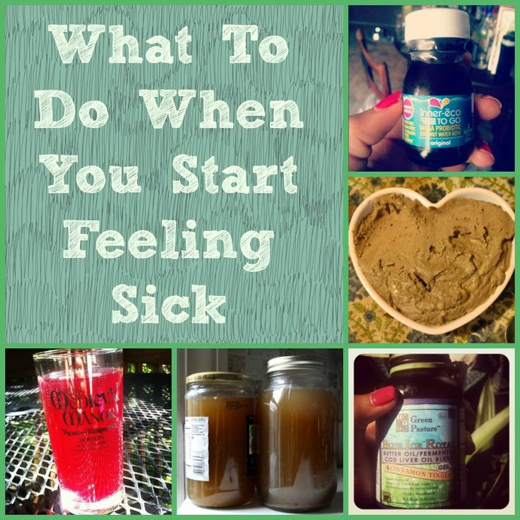 What To Do When You Start Feeling Sick   http://friskylemon.com/2014/01/29/what-to-do-when-you-start-feeling-sick/