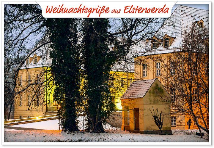 Weihnachtsgrüße aus Elsterwerda   http://kalenderladen.eu/ ©ImBild Verlag