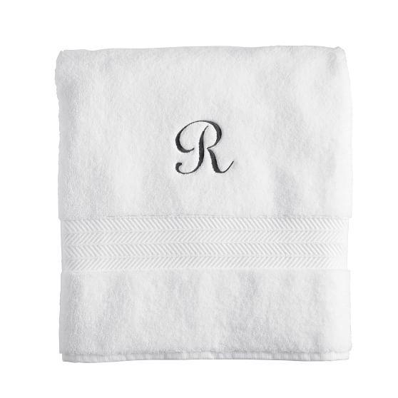 Turkish Hydro Cotton Bath Towel, Set of 4 | Mark and Graham, shelley allegro script - style 540, AC